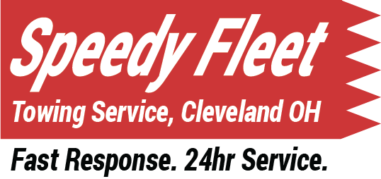 Speedy Fleet Towing Service Cleveland OH Without Truck Logo
