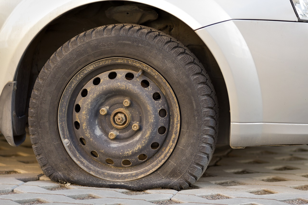 You are currently viewing What To Do With A Roadside Flat Tire